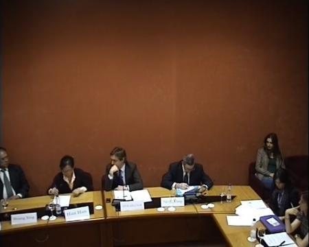 Jesús María Gamallo Aller. Director Xeral de Relacións Exteriores e coa U.E.  - Xornadas sobre autonomías en España e China: Galicia como exemplo